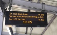 Southeastern completes £75k upgrade giving passengers more information: CIS-7