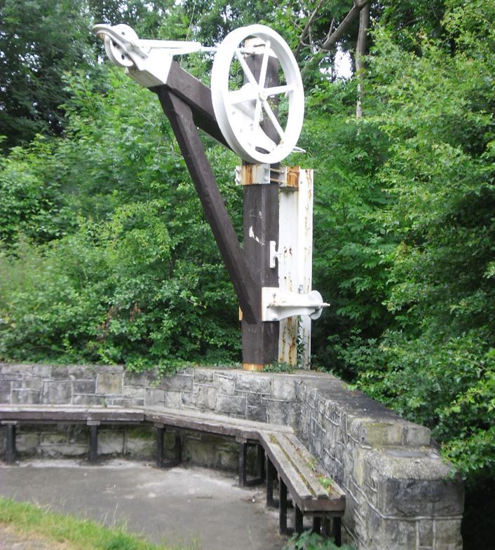 Dyserth crane