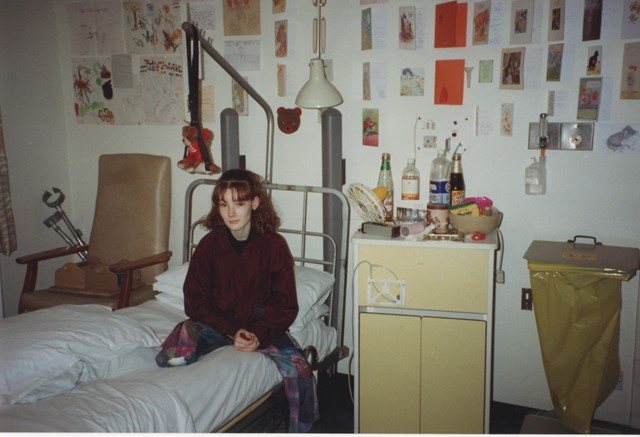 Woman who lost her leg at level crossing backs plans to close it: Lucy recovering in hospital after her accident in 1993