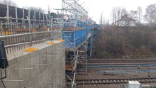 Work continues at Barrow upon Soar