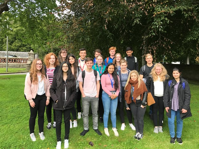 Aberdeen pre-med course students