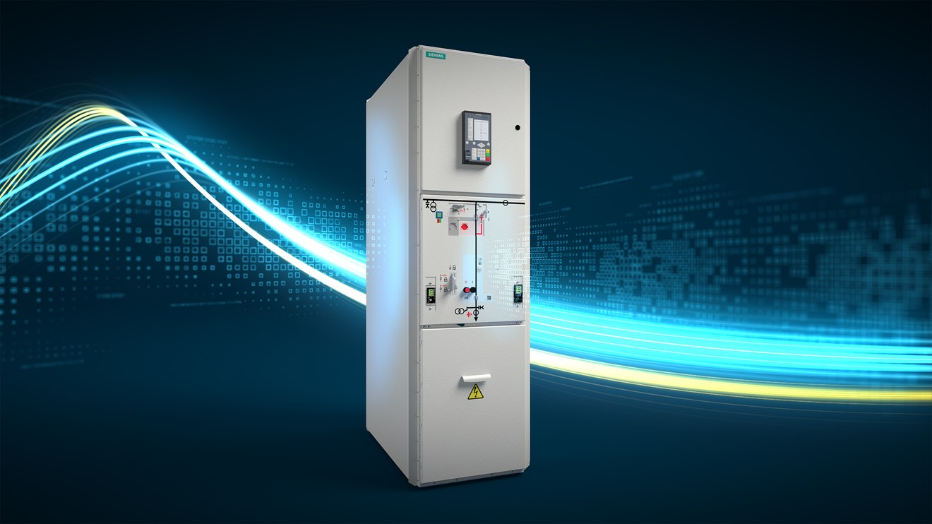 Siemens enables climate-neutral, safe energy distribution with new Clean Air switchgear: blue-GIS-Key-Visual-NXPLUS-C-24 original