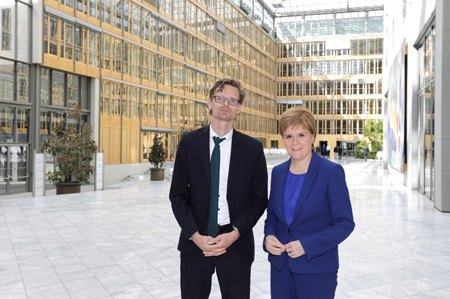 First Minister and Executive Board Member of the German Chambers of Commerce Ilya Nothnagel