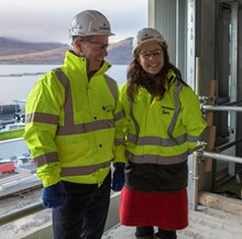 Jim Gallagher & kate Forbes MSP (2) 13.11.18