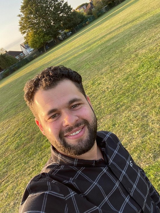 BCU graduate Tareq is now working for BBV on HS2