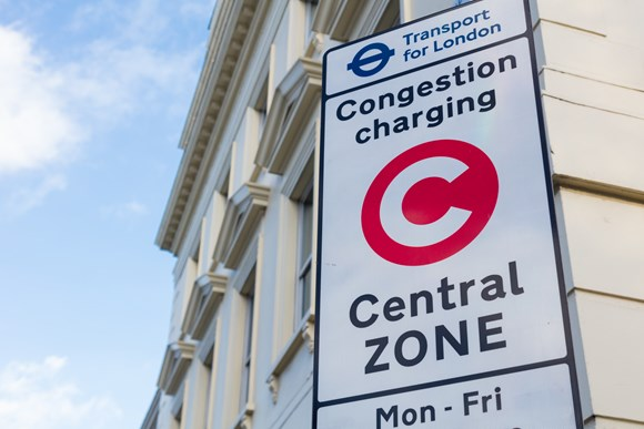 TfL Press Release - Changes proposed to Congestion Charge discounts and exemptions to reduce traffic and improve air quality: TfL Image - Congestion Charge 02