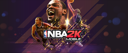NBA 2K Mobile App Icon