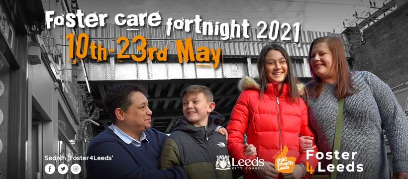 Leeds celebrates foster care fortnight 2021: FCF21 FB cover photo