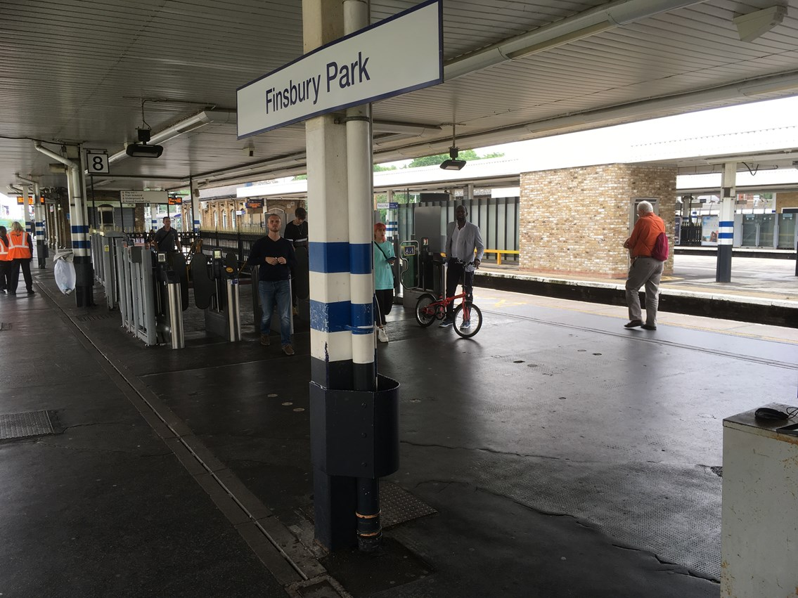 Work begins on major Access for All scheme at Finsbury Park railway station this month: Work begins on major Access for All scheme at Finsbury Park railway station this month