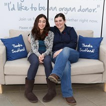Organ Donation 2013 Bethany and Jill Polanski