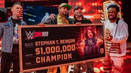 """WWE 2K19 Million Dollar Challenge Finalist Defeats """"The Phenomenal One"""" AJ Styles to Win One Million Dollars!: WWE2K19 MDC Winner"""