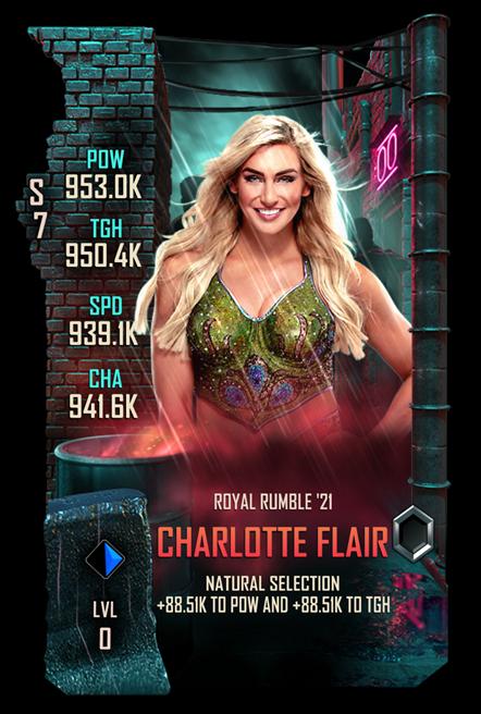 WWESC S7 Charlotte Flair Royal Rumble