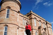Opening the doors of Inverness Castle