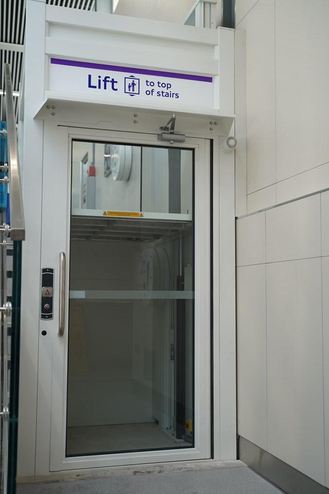 TfL Image - PN076 - West Drayton additional station lift