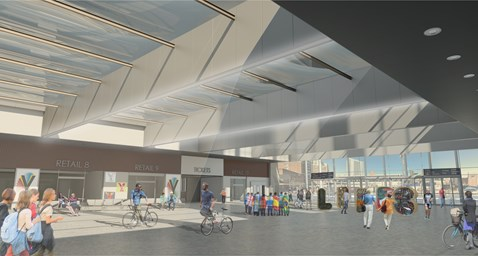 Plans announced for new transparent roof at Leeds Railway Station-2