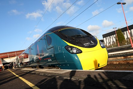 Pendolino - Birmingham International - Launch day