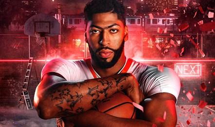 NBA2K20 Anthony Davis Art 1