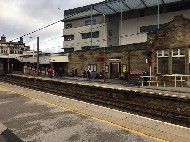 Network Rail announces £4million upgrade for Keighley station: Network Rail announces £4m upgrade for Keighley station