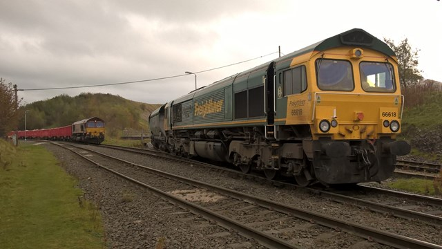 North West railways helping move a million tonnes of critical supplies every week during Covid-19 crisis: Freight train on the rail network