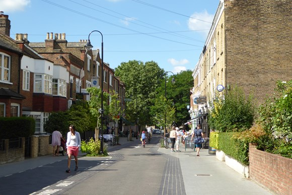 TfL Press Release - Streets across London will be transformed for communities on World Car Free Day: TfL Image - Orford Road