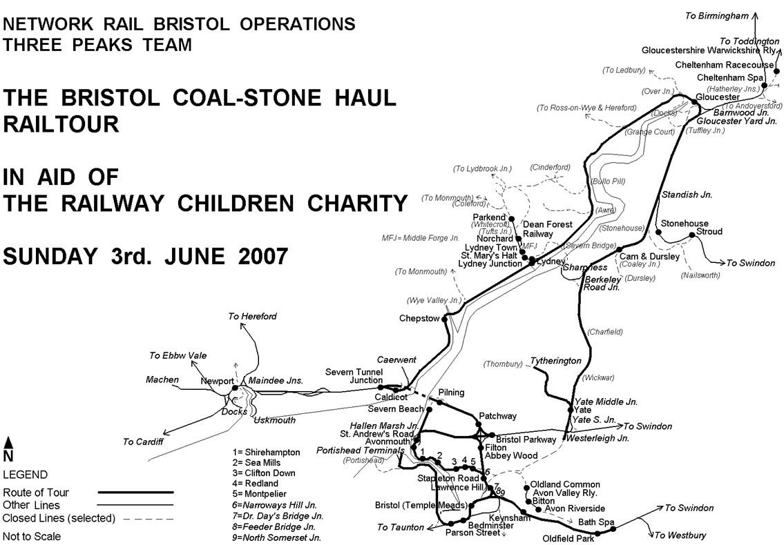 Bristol Coal-Stone Haul: The tour