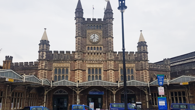 Bristol economy set to get power up thanks to Bristol Temple Meads station improvements: Bristol Temple Meads main entrance