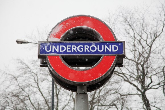 TfL Image - De-Icing trains will be running overnight, keeping tracks as clear as possible