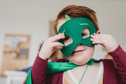 Childcare Offer for Wales to reopen: boy in mask