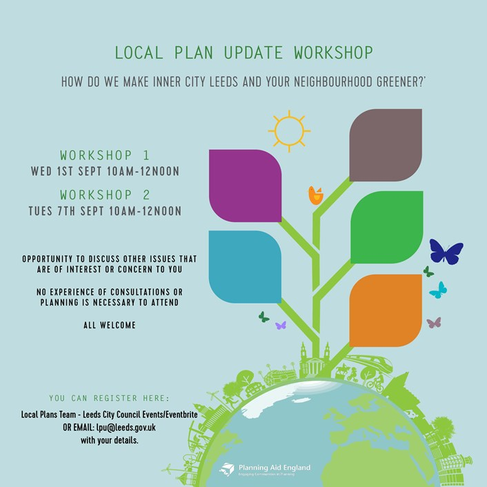 Local Plan Update scoping consultation – one week left to have your say!: LPU - Advert