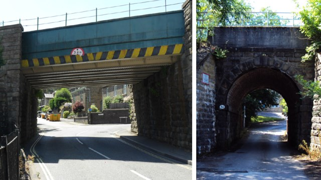 Passengers reminded of railway closure next month for High Peak rail bridge upgrades: Whaley Bridge bridge upgrades composite