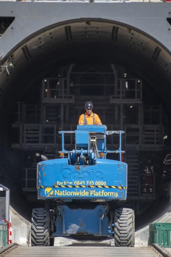 Florence Chilterns Tunnel entrance: Credit: hS2 Ltd