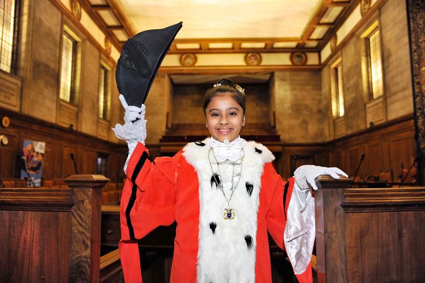 Voting is underway for the new Leeds Children's Mayor: children039smayor201516.jpg