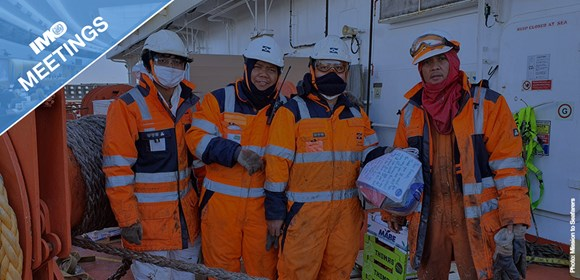 Maritime Safety Committee takes practical steps to support shipping and seafarers during pandemic: MSC Seafarersfinal (002)