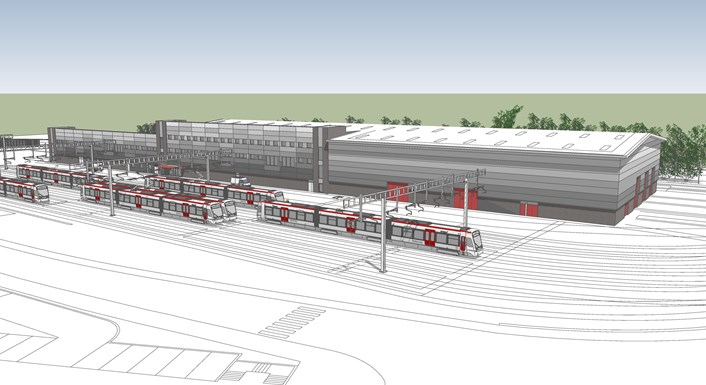 Taffs Well Depot Artist Impression 5