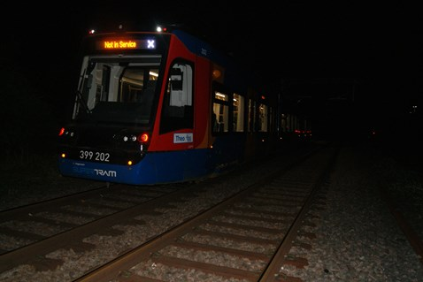 Test running of Tram Train May 2018