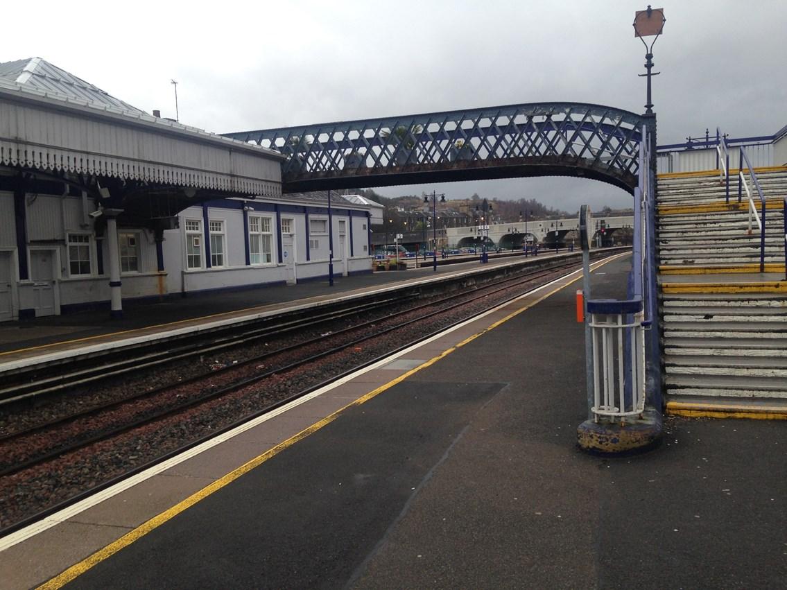 Stirling station footbridge works set to start: Stirling Station platfrom 6&9 footbridge