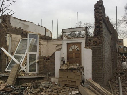 Islington Council action brings £60,000 in fines and costs after demolition of historic houses: Hungerford Rd house demolition