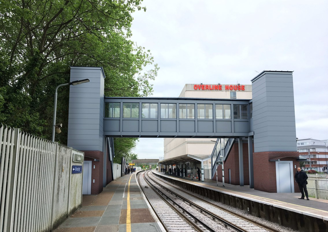 Crawley station users invited to find out more about plans to make their railway station accessible for all passengers: CGI 02