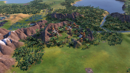 Civilization VI - New Frontier Pass - Maya & Gran Colombia Pack - Paititi Natural Wonder