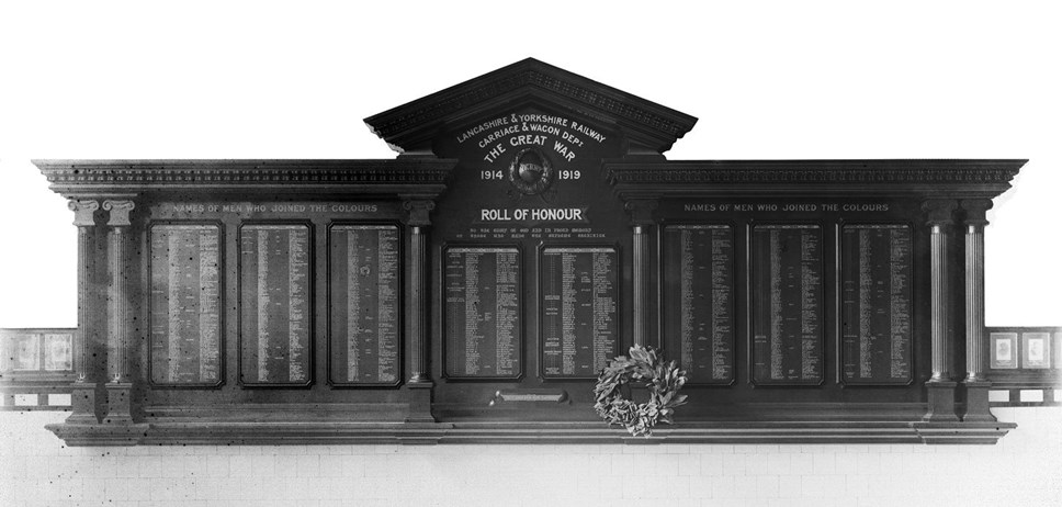 Northern launches search for families of those named on the Lancashire and Yorkshire carriage and wagon First World War memorial: War memorial originaljpg Page1