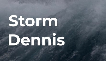 Energy networks get ready for Storm Dennis: Storm Dennis icon
