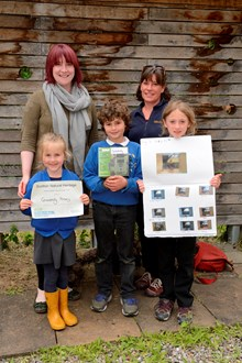 School camera trap project - Grandtully Primary School winners - CTA2017-9857