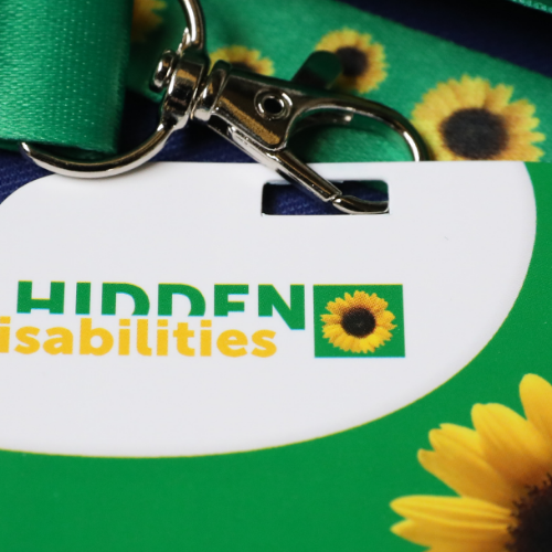 Images - Sunflower Lanyard