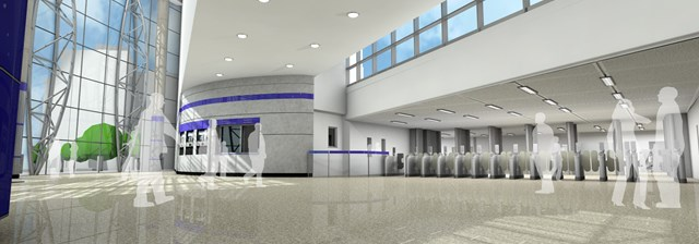 Blackfriars north station (internal)