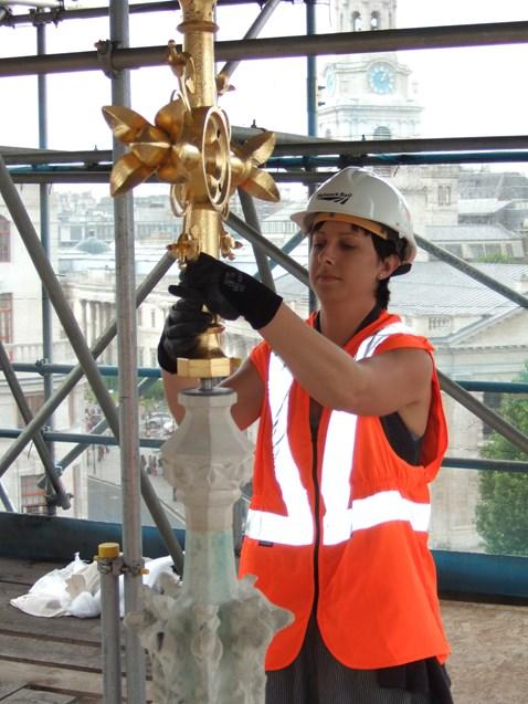 Eleanor Cross Restoration - Charing Cross_3