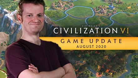 Civilization VI August Game Update Thumbnail