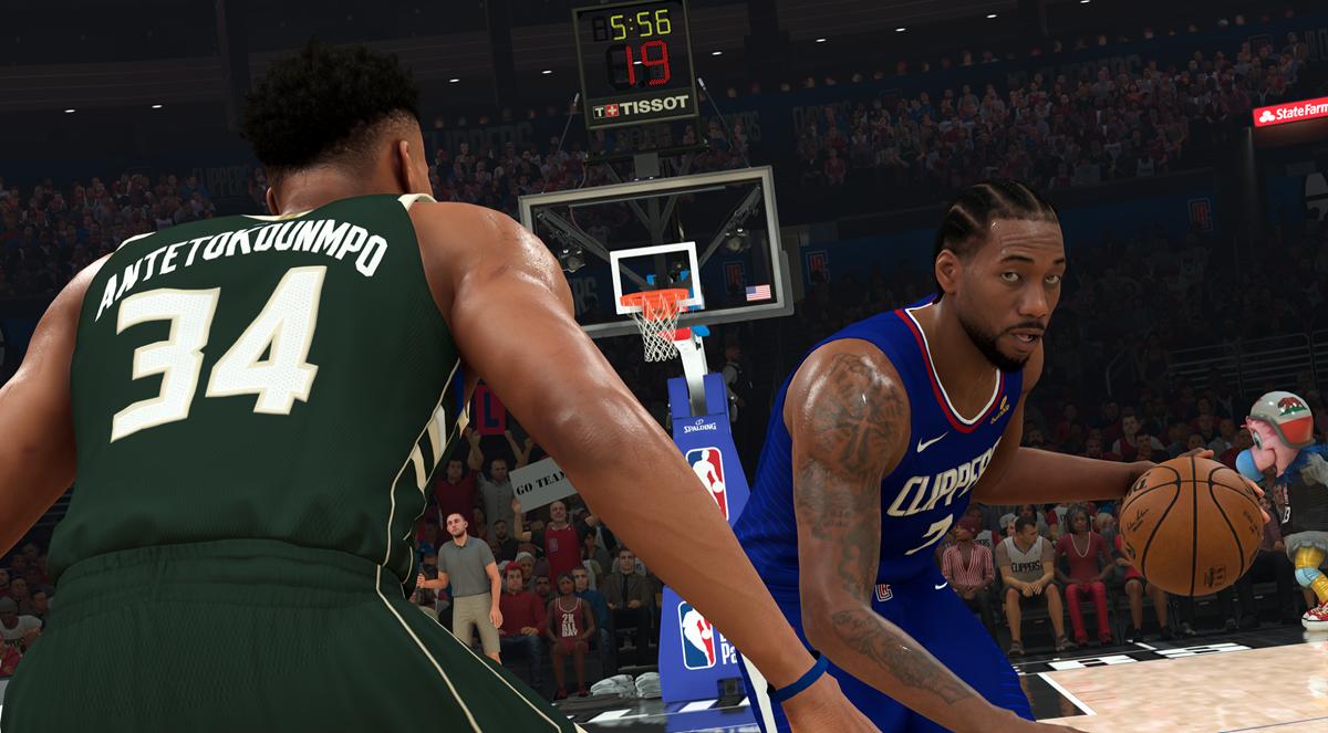 NBA 2K21 - CG Demo Kawhi vs. Giannis