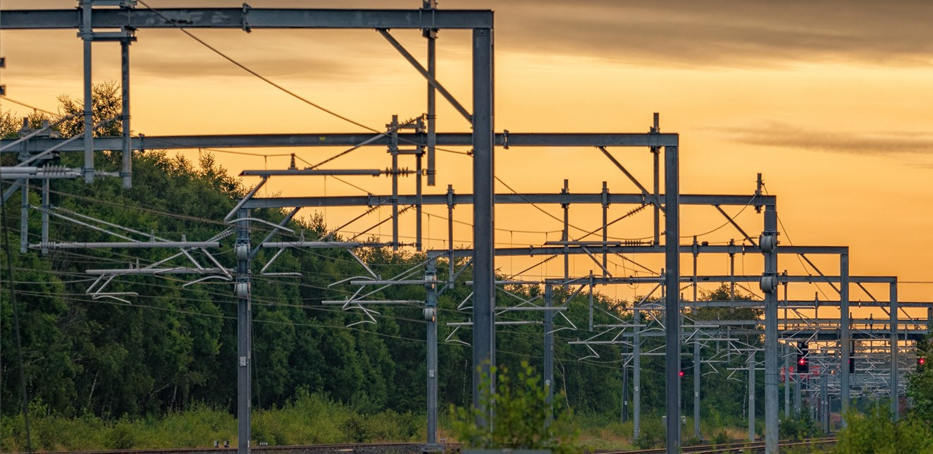 Cumbernauld-Greenhill electrification goes live: Overhead wires on Edinburgh-Glasgow route