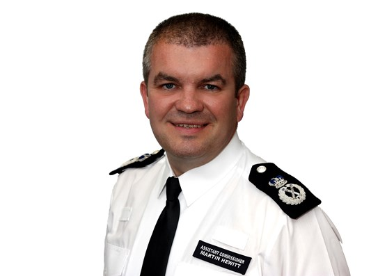 Election of new NPCC Chair: Martin Hewitt