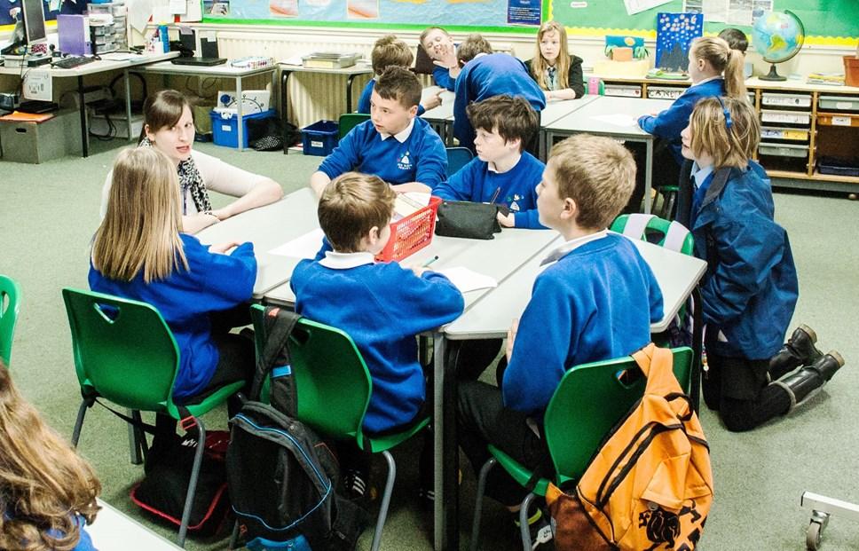 Sustainable schools policy go-ahead